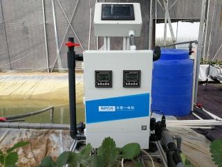 寿光博云农业倾力打造临邑县立体草莓种植及智能水肥一体化