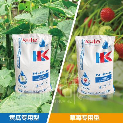 温室黄瓜专用水溶肥冲施肥 水肥一体化系统专用大量元素水溶肥