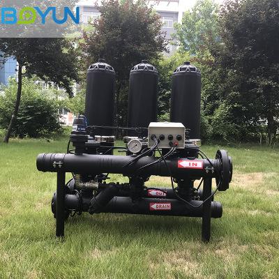农业灌溉用全自动自清洗过滤器 全自动排污过滤器