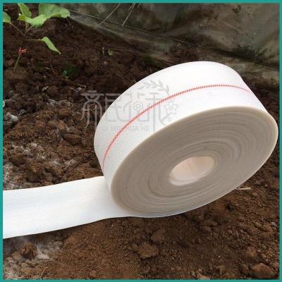 温室大棚滴灌系统专用耐磨耐高压3寸pe编织白色滴灌带主管带
