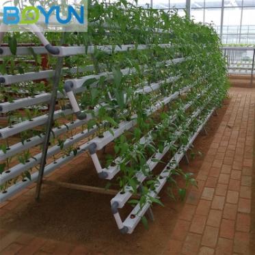 无土栽培设备新型立体栽培水培设备 A字架管道水培设备