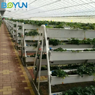 无土栽培草莓种植槽 加工定制 承接无土栽培设备设计安装及工程