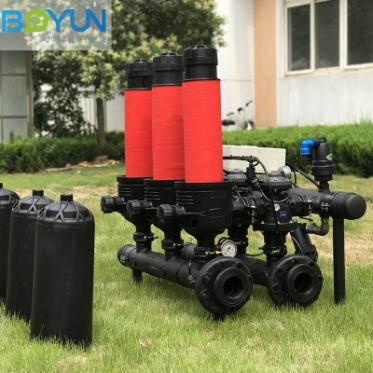 农业灌溉过滤系统 全自动自清洗叠片过滤器
